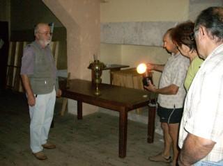 Atelier lumière musée Soumensac Duras Lot-et-Garonne
